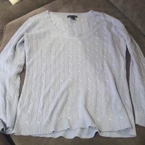 New York & Company Sweater Light Lilac